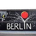 BERLIN, East Side Gallery, fresque de Gerhad Lahr (Allemagne)