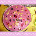 Entremets ananas-fruits rouges !