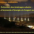 pollution lumineuse millau