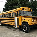 GMC 6000 <b>school</b> <b>bus</b> Blue Bird 1973-1989