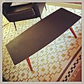 Vendue • table basse vintage •