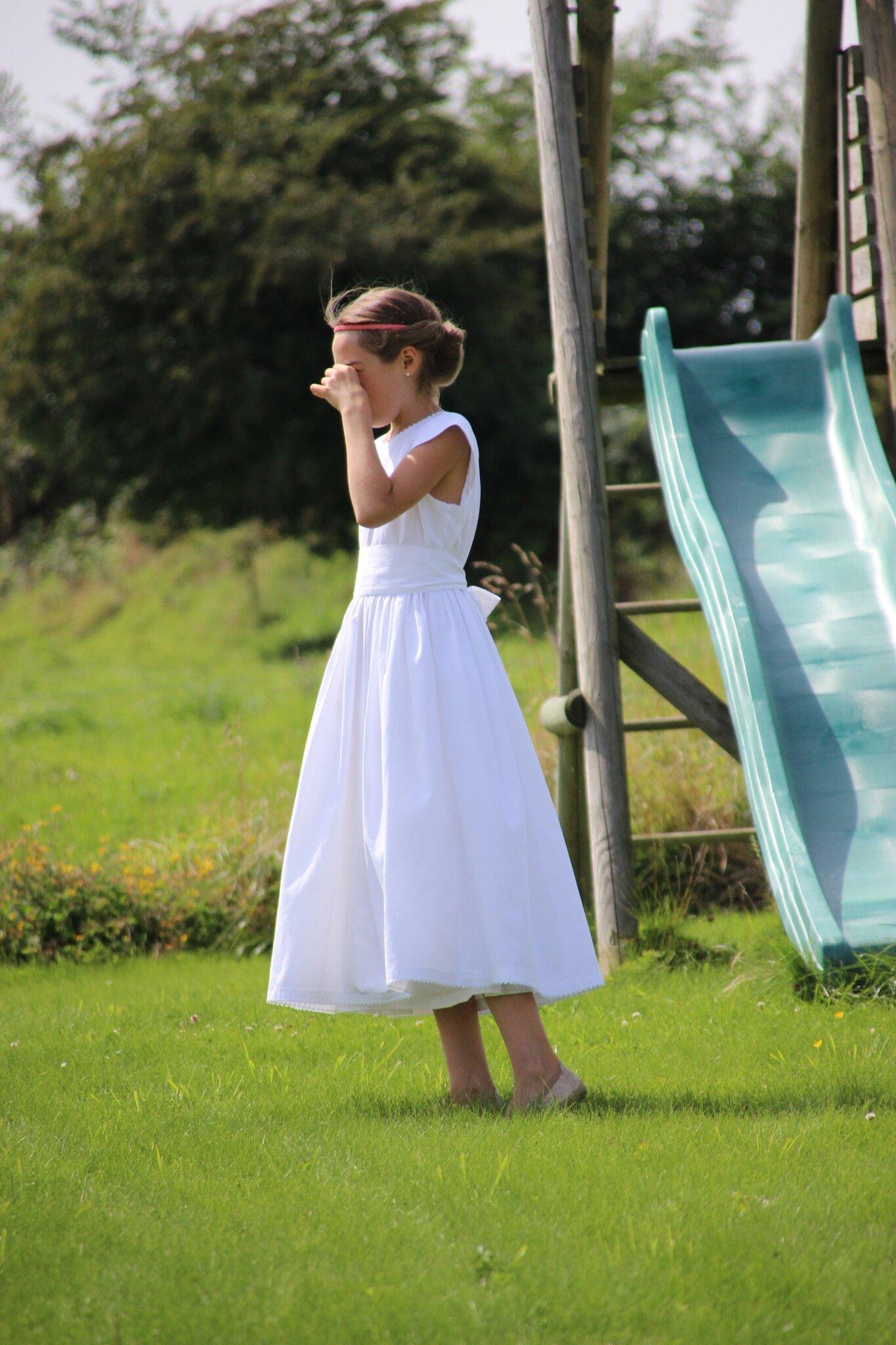 Quand la robe de communion devient robe de mariage !!