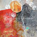N°148 - 150 monoprints d'automne / autumn monoprints