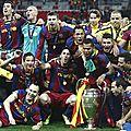 Barcelone écrit l'histoire