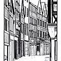 Rouen, rue damiette