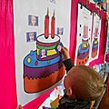 Chaque escargot dit son âge et choisit son gâteau