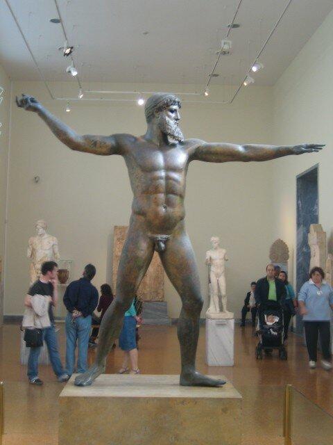 Il a la classe, Zeus (ou Posseidon comme on veut, hihi)