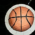 gateau ballon de <b>basket</b>