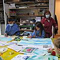 Le Bonheur d'animer un Atelier Dessins et Peintures pour enfants !