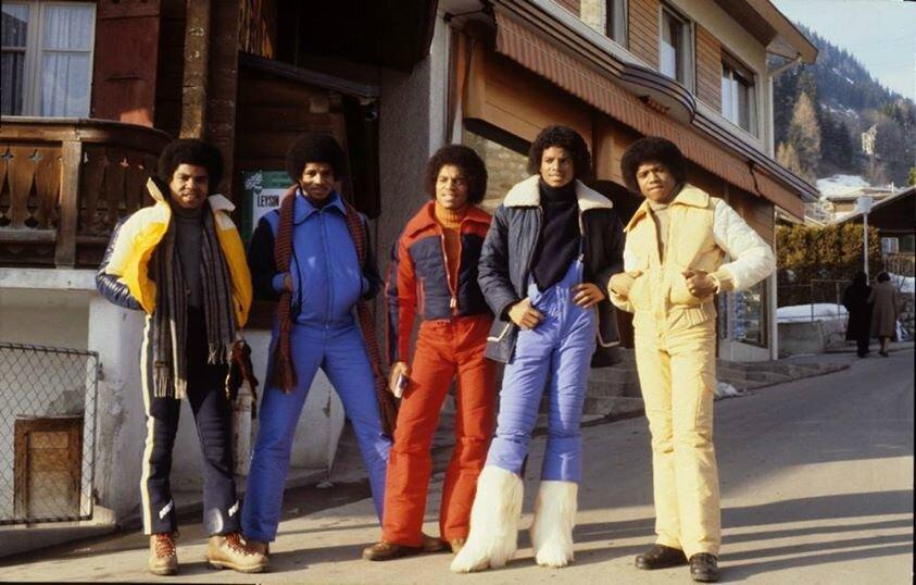 The Jacksons à Leysin, Suisse, les 14 et 15 février 1979