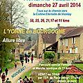 Auxerre <b>Vézelay</b> 27/04/2014