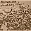 1917 - des millions de soldats américains débarquent en france