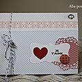Un carte de st valentin