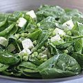 Salade toute verte