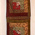 Vide-poche en patchwork