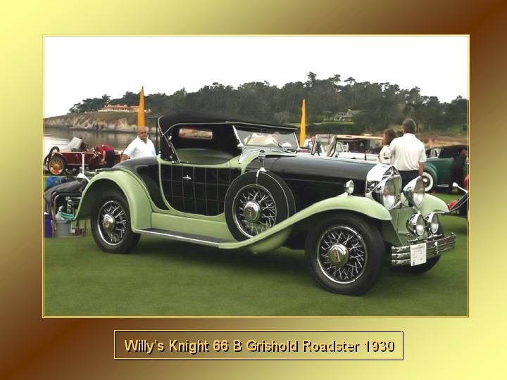 1930 - Willy's Knight 66 B Grishold Roadster
