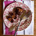 Muffins chocolat et de beurre de cacahuéte