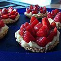 Tartellette à la fraise