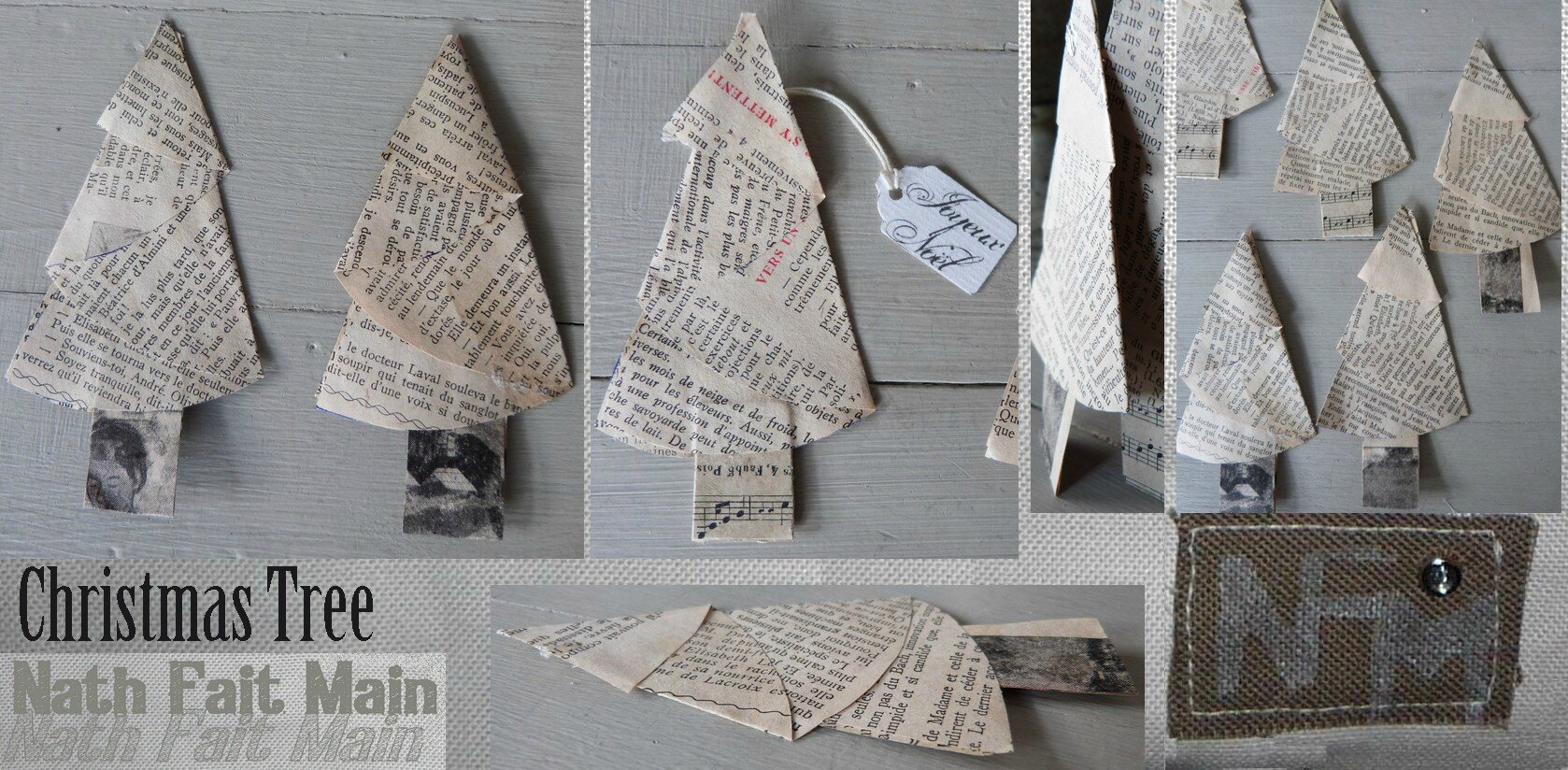 Christmas Tree papier ancien (0)
