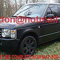 <b>Range</b> <b>Rover</b> <b>Sport</b>, <b>Range</b> <b>Rover</b> <b>Sport</b>, <b>Range</b> <b>Rover</b> <b>Sport</b> Total covering noir mat, <b>Range</b> <b>Rover</b> <b>Sport</b> peinture covering noir mat,