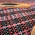 tissage carreaux laine