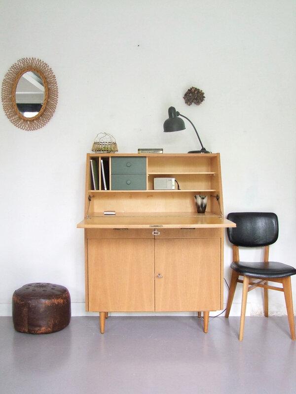 Meuble-secrétaire vintage