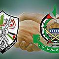 Une réconciliation fatah-hamas en palestine.