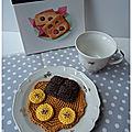 Crêpe banane chocolat au crochet