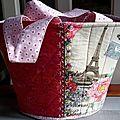 Tuto couture : montage d'un sac