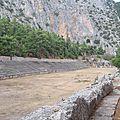 grèce delphes le stade