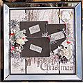 Cadre déco Christmas by Caroline