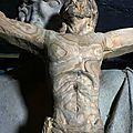 Fu - sculpteur - bois - cèdre - taille directe - Christ