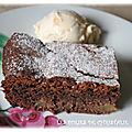 Brownie aux <b>poires</b>
