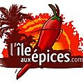 Nouveau partenariat : <b>l</b>'<b>ile</b> aux <b>épices</b>