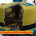 Recette et technique : le gâteau damier
