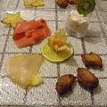 Bolinhos à la coriandre et piment d'espelette