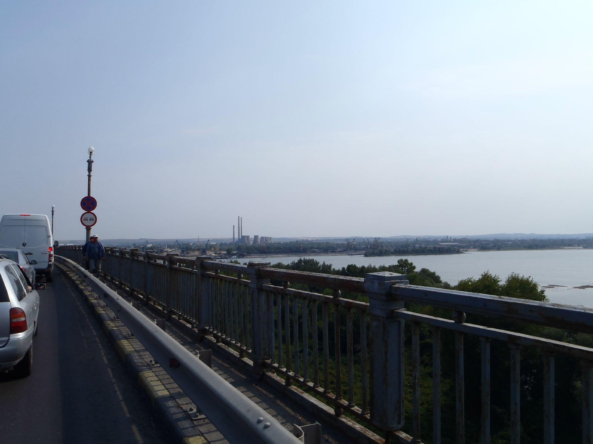 le danube sous le pont de ruse