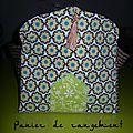 Tuto de panier pour tapis de prière...