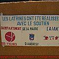 AJAK 2014 : Fin de la construction des latrines au collège de Korgom au NIGER