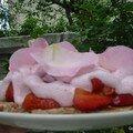 Fraisir aux pétales de rose de Cookingout