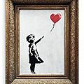 <b>Banksy</b> ou l'art de la destruction