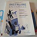 Coup de coeur livre: <b>Instruire</b> en famille de Charlotte Dien