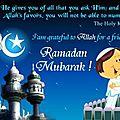 Le Ramadan pour le nul