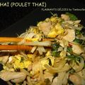 Pad thaï (poulet thaï sauté au soja)