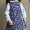 Esther et la petite robe du mois de février