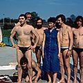 En 1982 à la piscine de longuyon : mes débuts en plongée