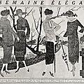 La semaine élégante du 20 mars 1919