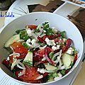 Horiatiki salata : l'ancêtre de la salade grecque