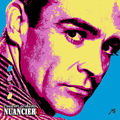 Nuancier pop'art I, Sean Connery