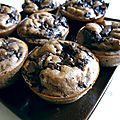 Muffins chocolat bananes weight watchers